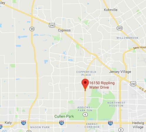 Preppy Pet West Houston Map Location